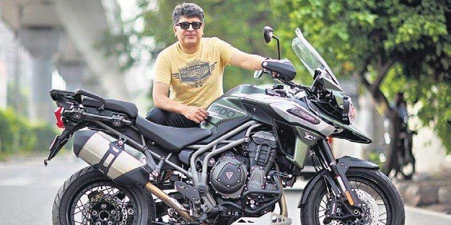 Triumph Motorcycles India GM Shoeb Farooq