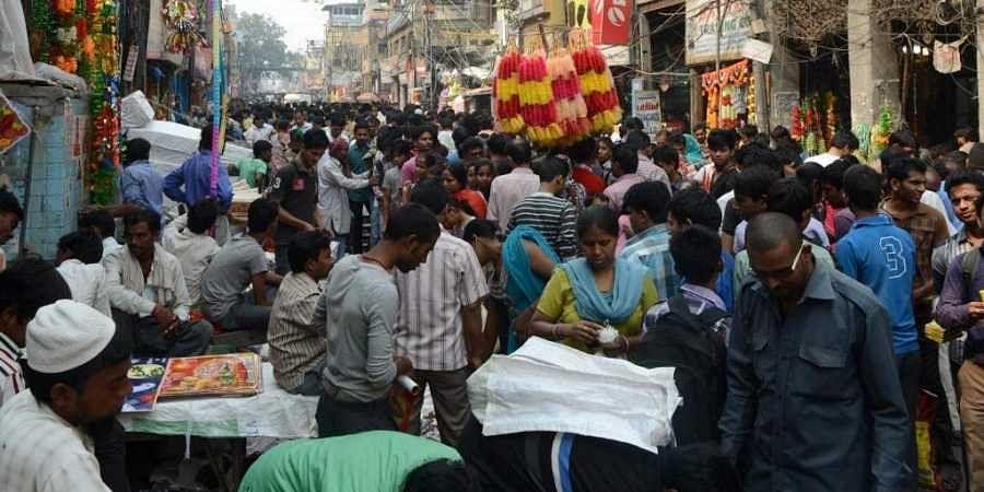 Security is at the highest alert in three crowded markets -- Sarojini Nagar, Lajpat Nagar and Karol Bagh localities. (Photo   AFP)