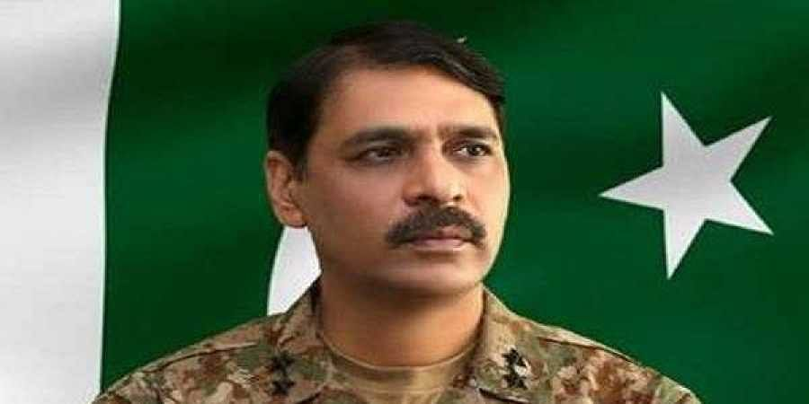 Pakistan military spokesman Major General Asif Ghafoor