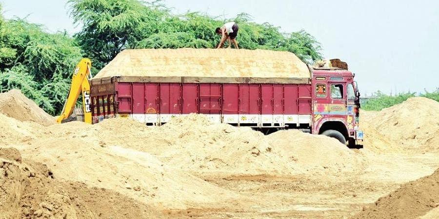 Sand mining, Sand supply