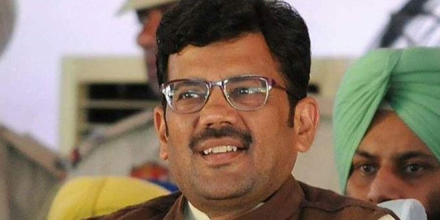 BJP leader Kamal Sharma.