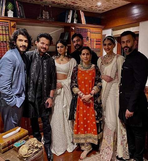 2019-Bollywood-Diwali-Photos-Anil-Kapoor'sParty