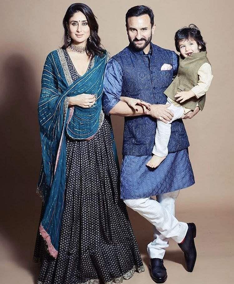 2019-Bollywood-Diwali-Photos-Kareena-Saif-Family