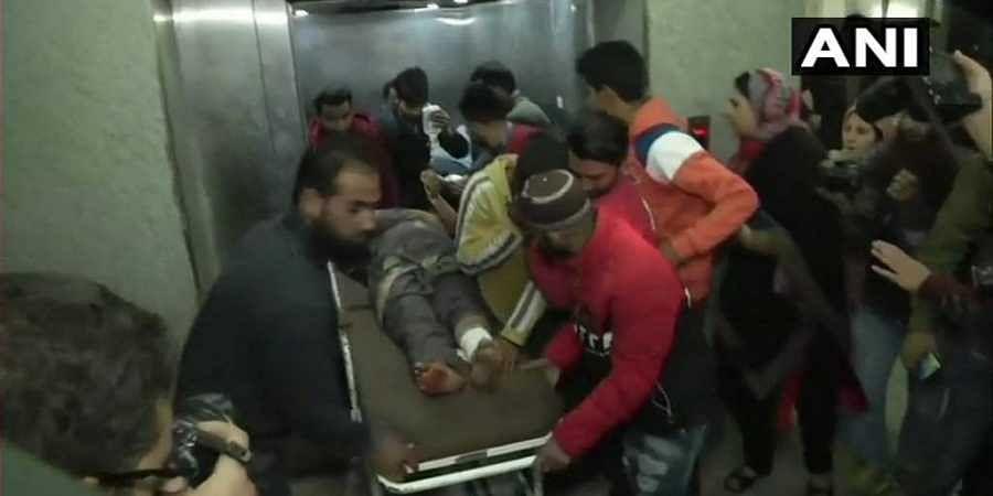 Jammu and Kashmir, grenade attack