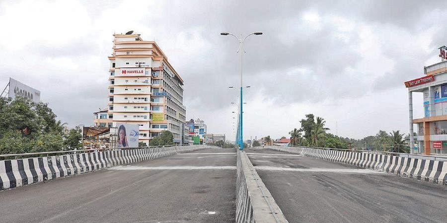 Palarivattom flyover in Kochi