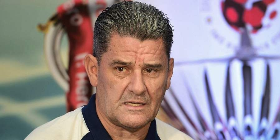 Chennaiyin FC manager John Gregory