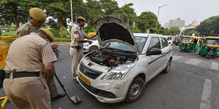 Delhi Police conduct checks as security tightens following intelligent inputs that JeM terrorists had infiltrated into the national capital