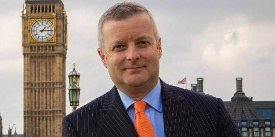 UK Liberal Democrats MP Chris Davies