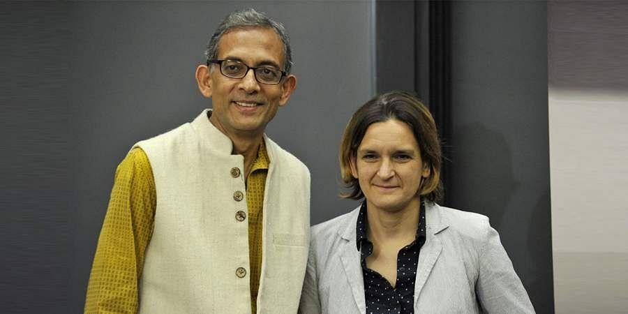 Nobel laureates Prof Abhijit Banerjee and Prof Esther Duflo