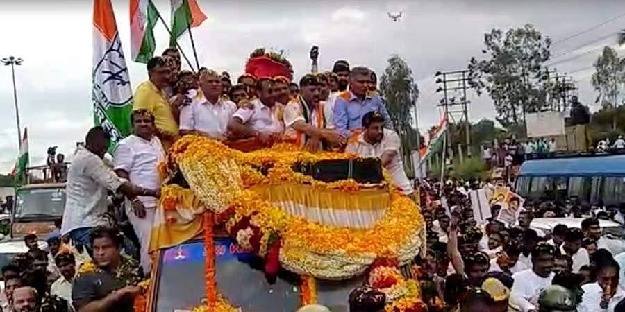 Congress leader DKS