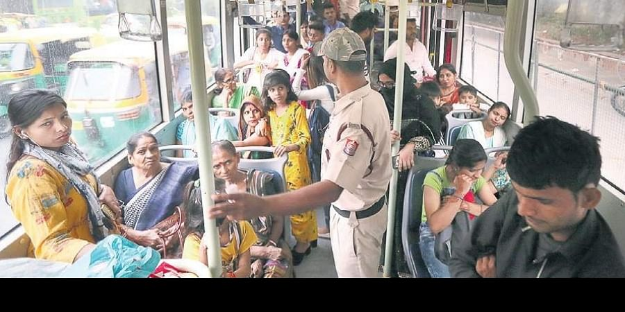 The free of cost travel scheme for women in Delhi public buses kicked off on Tuesday, on the occassion of Bhai Dooj.