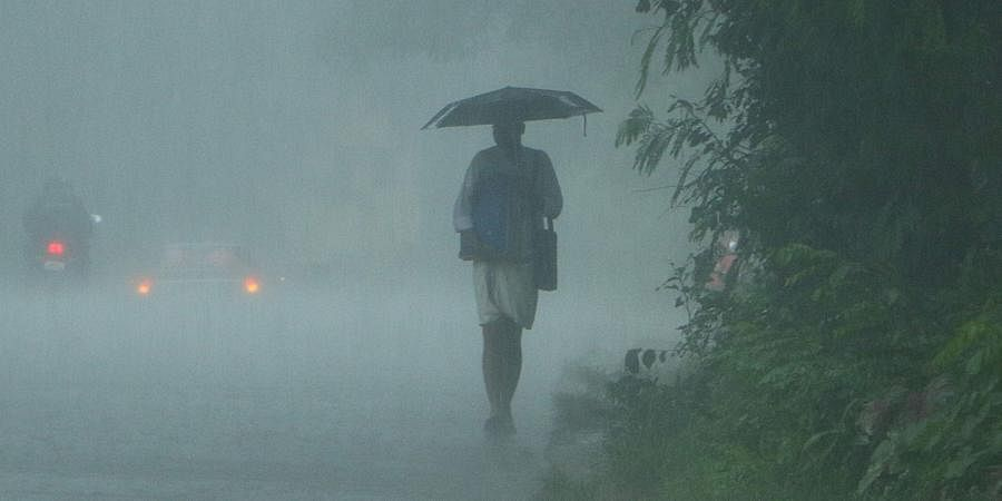 IMD has predicted heavy rainfall today at isolated parts of the state today.