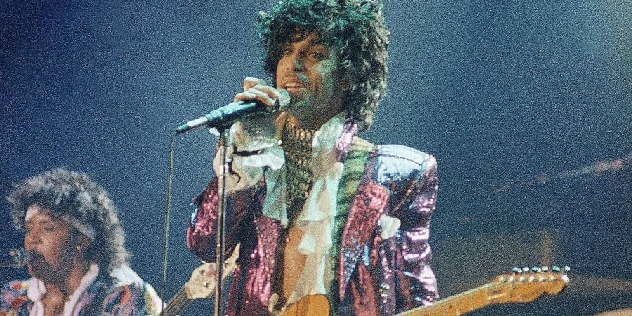 American singer, songwriter, musician, record producer, dancer, actor, and filmmaker Prince.
