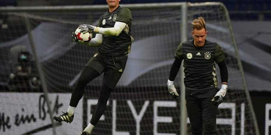 Manuel Neuer  and Marc-Andre ter Stegen