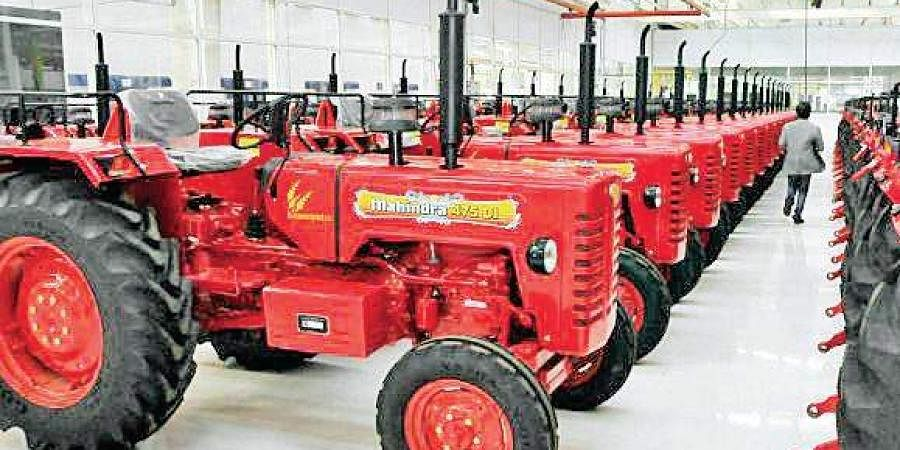 Image of tractors used for representational purposes only. (Photo | EPS)