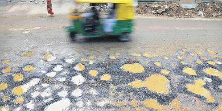 Bengaluru potholes
