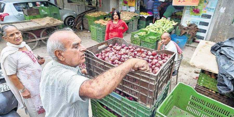 Onion has been selling at exhorbitant rates in parts of the city.
