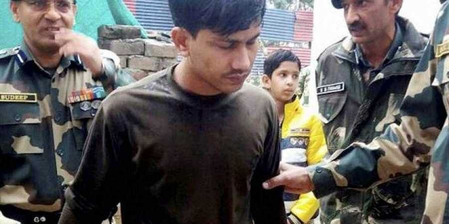 Soldier Chandu Chavan, who had inadvertently crossed into Pakistan in 2016