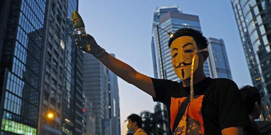 Hong Kong protest, Mask