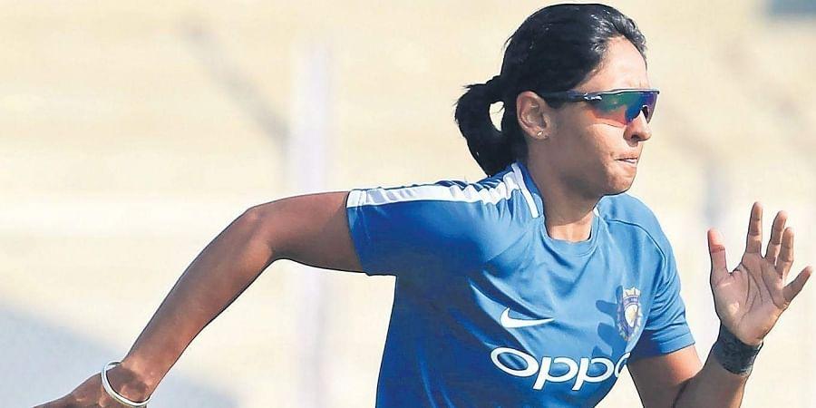 Indian cricketer Harmanpreet Kaur