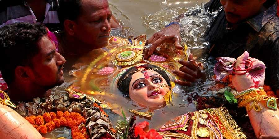 Idol immersion in Ganga and its tributaries to attract fine of Rs 50000