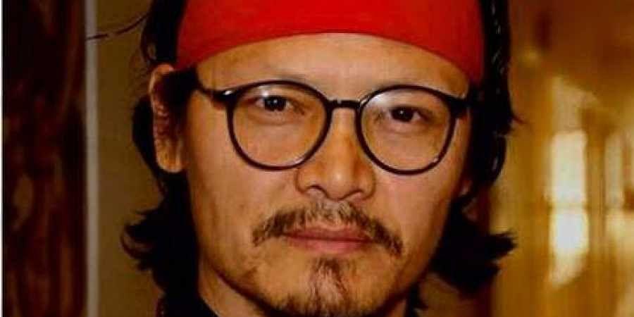 Tibetan activist and writer Tenzin Tsundue