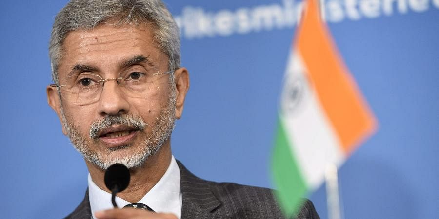 India's Minister of External Affairs Subrahmanyam Jaishankar