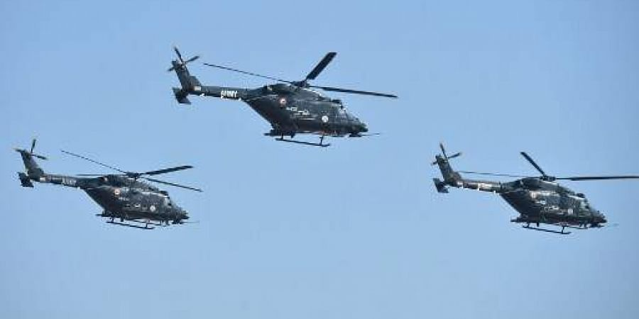 50 armed Rudra helicopters have already been inducted and 10 more will join the force by 2020. | (File | AFP)