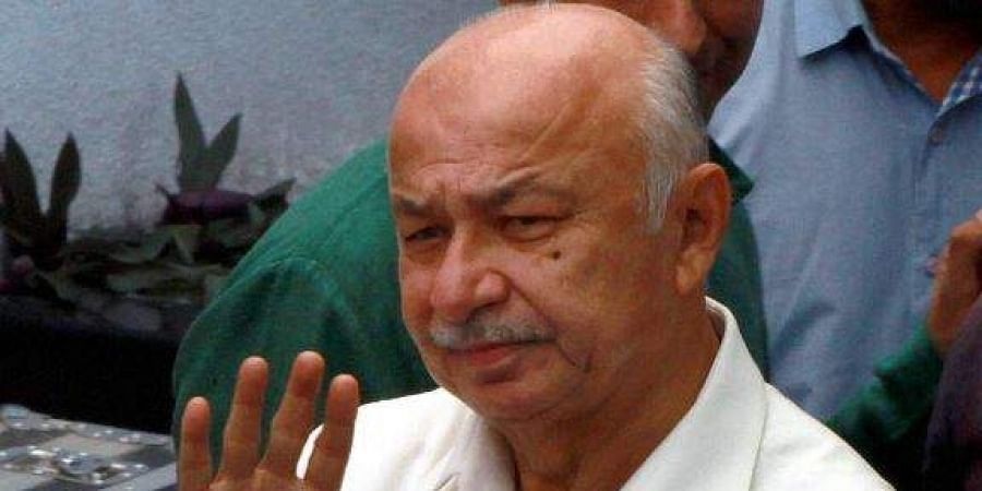Senior Congress leader Sushil Kumar Shinde. (