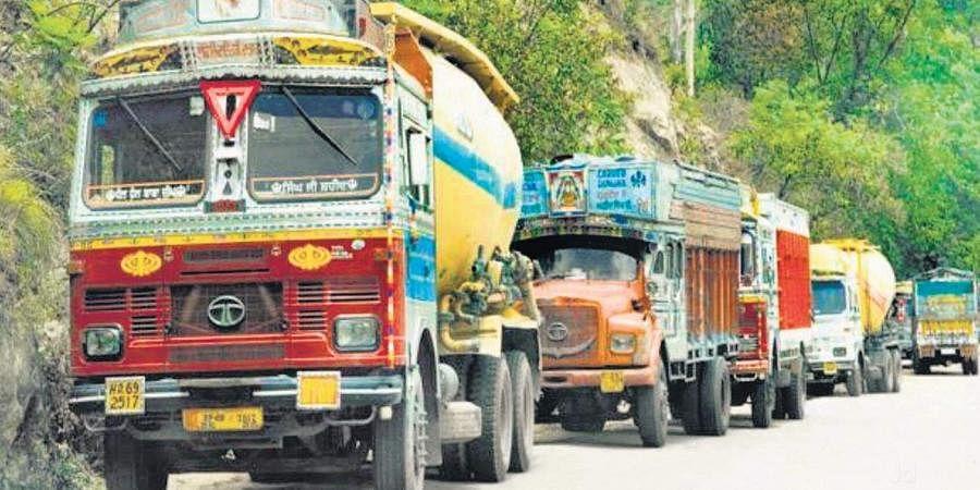 trucks, lorries