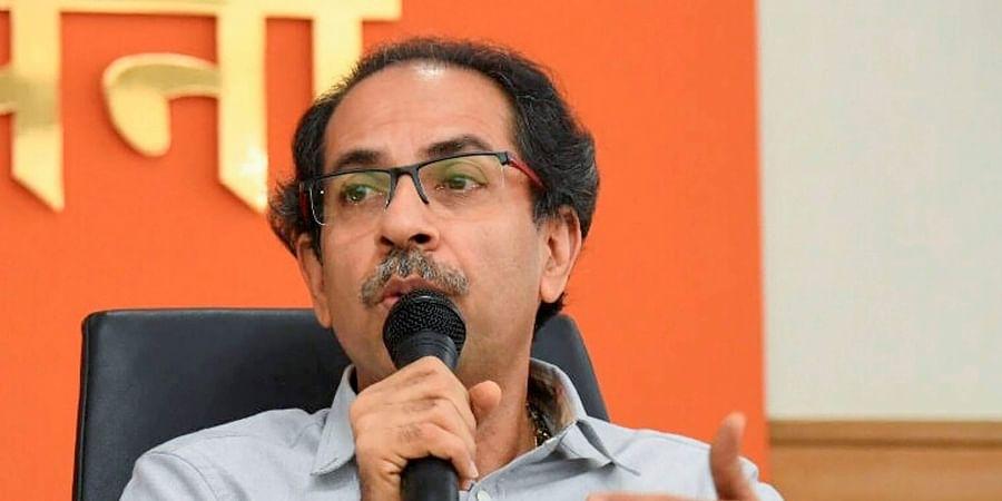 Shiv Sena chief Uddhav Thackeray