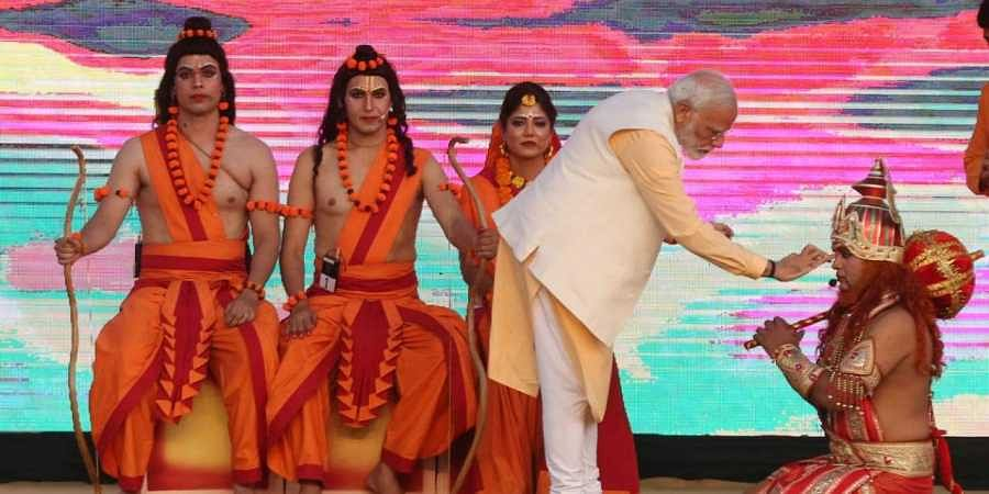 Prime Minister Modi was speaking at a Dussehra event organised by Dwarka Sri Ram Leela Society.