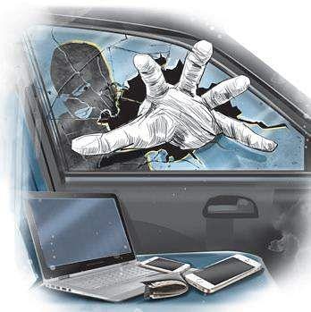 Car thief, robber
