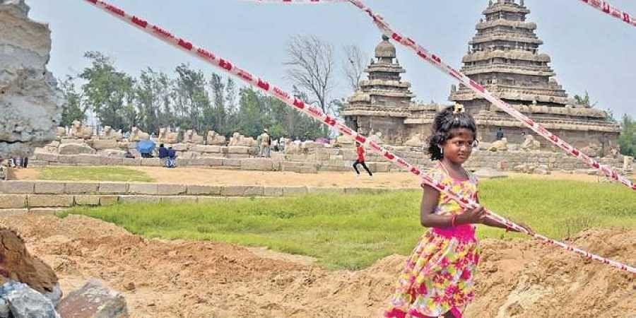 File Photo of Mamallapuram where Modi and Xi Jinping are scheduled to meet