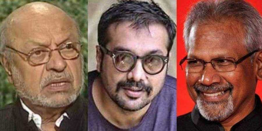 (From left to right ) Shyam Benegal, Anurag Kashyap, Manirathnam