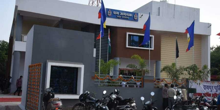 Chhattisgarh's first model Amanaka police station located on the Greater Eastern (GE) road of Raipur.