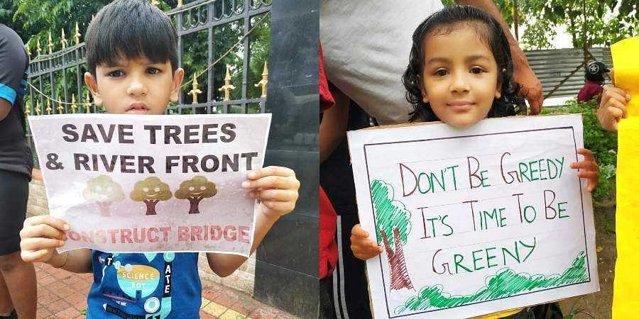 """Save Tree and Riverfront"" campaign."
