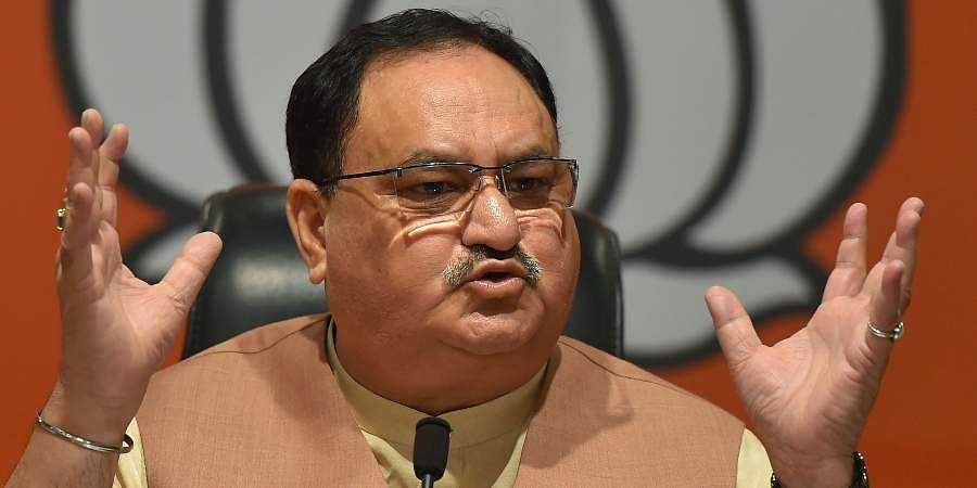 BJP working president JP Nadda