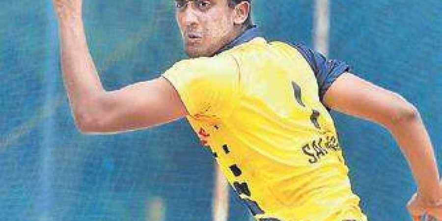 R Sai Kishore returned figures of 3/19 against Rajasthan on Saturday.