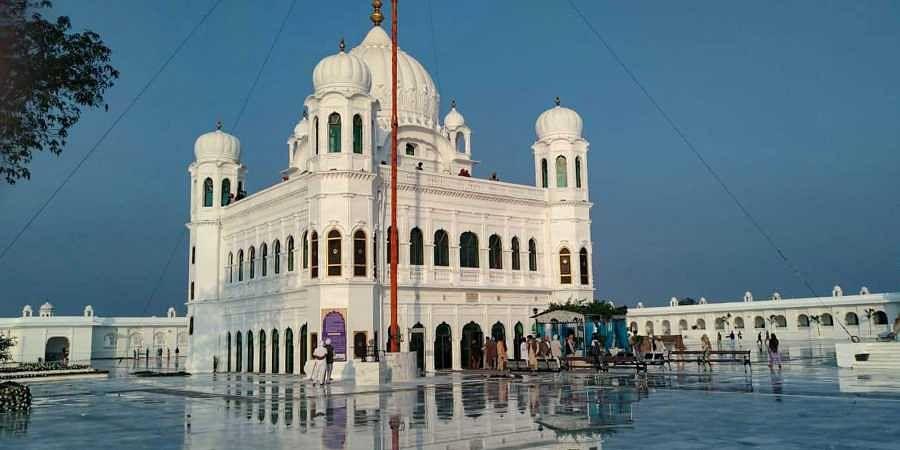 A view of Gurdwara Kartarpur Sahib in Pakistan Friday Nov. 8 2019.  | (Photo | PTI)