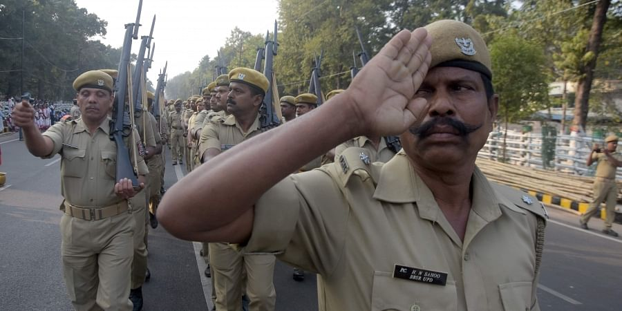 Image of Odisha police personnel used for representational purpose
