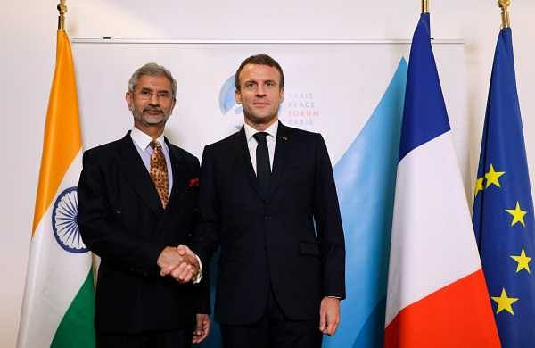 Jaishankar meets French President Macron in Paris, discusses strategic issues