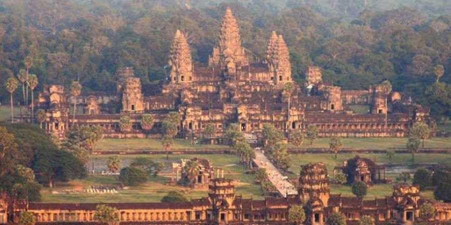 Cambodia's Angkor Wat.