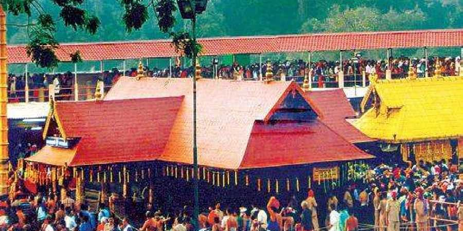 Sabarimala temple in Kerala