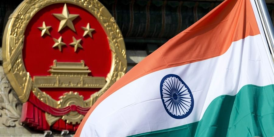 India and China  flags. | (File | AP)