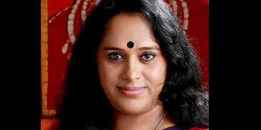 Actress Sajitha Madathil