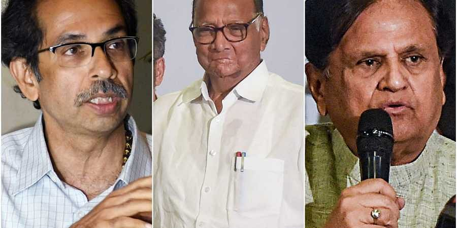 All the three parties shall get 14 ministries each, as per the proposed Shiv Sena formula. | (Photo | PTI)