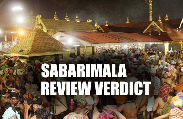 Sabarimala Review Verdict