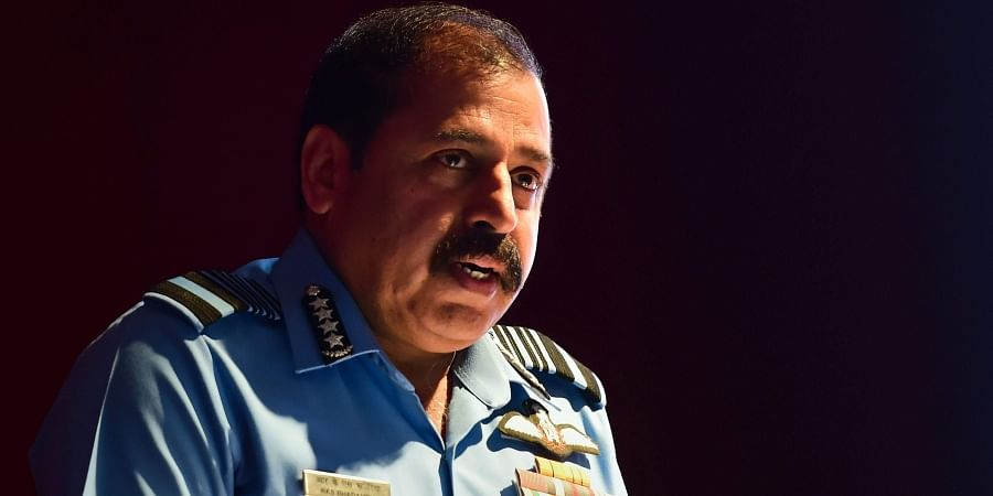 Air Chief Marshal RKS Bhadauria during the inauguration of 58th annual conference of Indian Society of Aerospace Medicine in Bengaluru Thursday Nov. 14 2019.