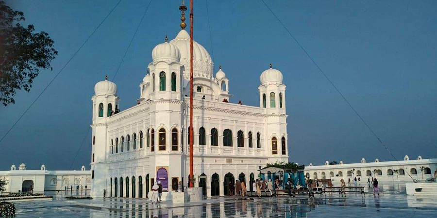 A view of Gurdwara Kartarpur Sahib in Pakistan Friday Nov. 8 2019.    (Photo   PTI)